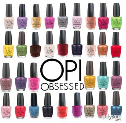 Opi Nail Polish Color Chart 2017